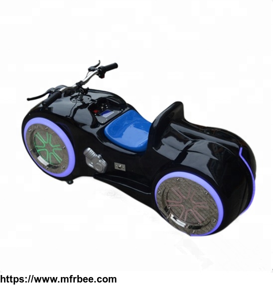 Amusement park battery powered kiddy rides motorcycle remote control motor bike for kids