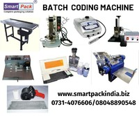 Semi automatic mrp  batch prinitng machine in Bhubaneswar