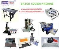 Semi automatic mrp batch prinitng machine in Chennai