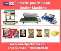 Band Sealer Machine for plastic pouch packinng in Nashik