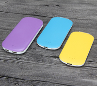 3000mah 5000mah 10000mah li polymer battery clip power bank