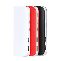 10000mah 15000mah lithium ion battery power bank with flashlight