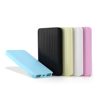 4000-8000mah li polymer dual usb power bank