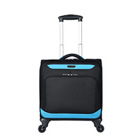 Polyester luggage trolley bag travel case cheap luggage