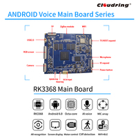 RK3368 Android AI Main Board for Robotic 5MIC ARRAY Remote APP Control