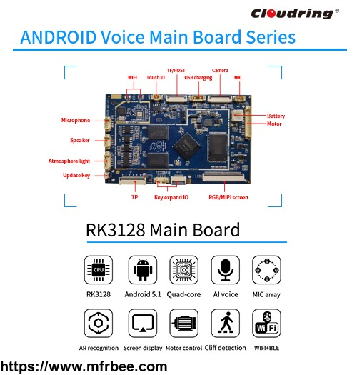 rk3128_android_main_board_for_robotic_app_control_ar_book_reading
