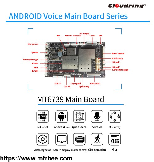 4g_mt6739_android_main_board_for_robotic_6mic_array