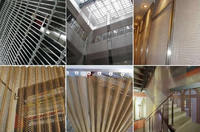 decorative mesh curtains and panels