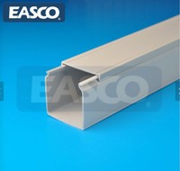 high quality Zero Halogenated Low Smoke Lead Free Slotted Wiring Duct supplier