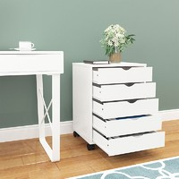 wood file cabinet for home office