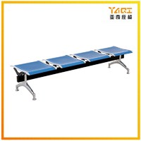hot sell public steel airport 3 4 5 seats no arm hospital waiting chair bench YA-29