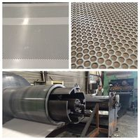 more images of custom architectual perforated metal sheet