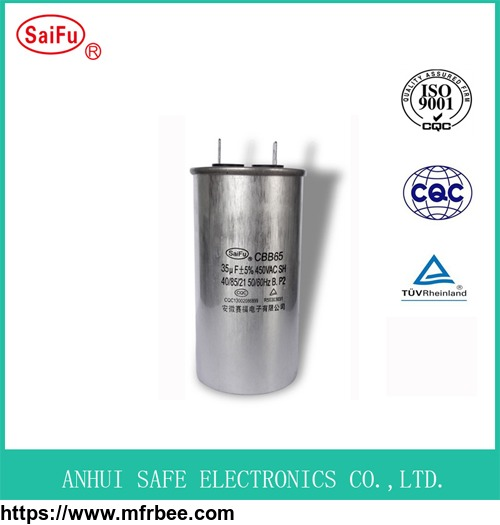 CBB65 AC Motor Capacitor Air Conditioner Capacitor
