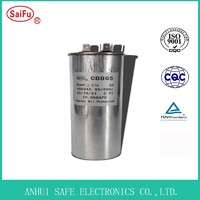 Cbb65 Single Air Conditioner Motor Run Capacitor