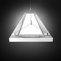 8inch x 4ft Pendant Up/down Led Linear Panel
