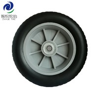 Rubber tires 8 inch semi pneumatic rubber wheel for air compressor generator pressure washer china wholesale