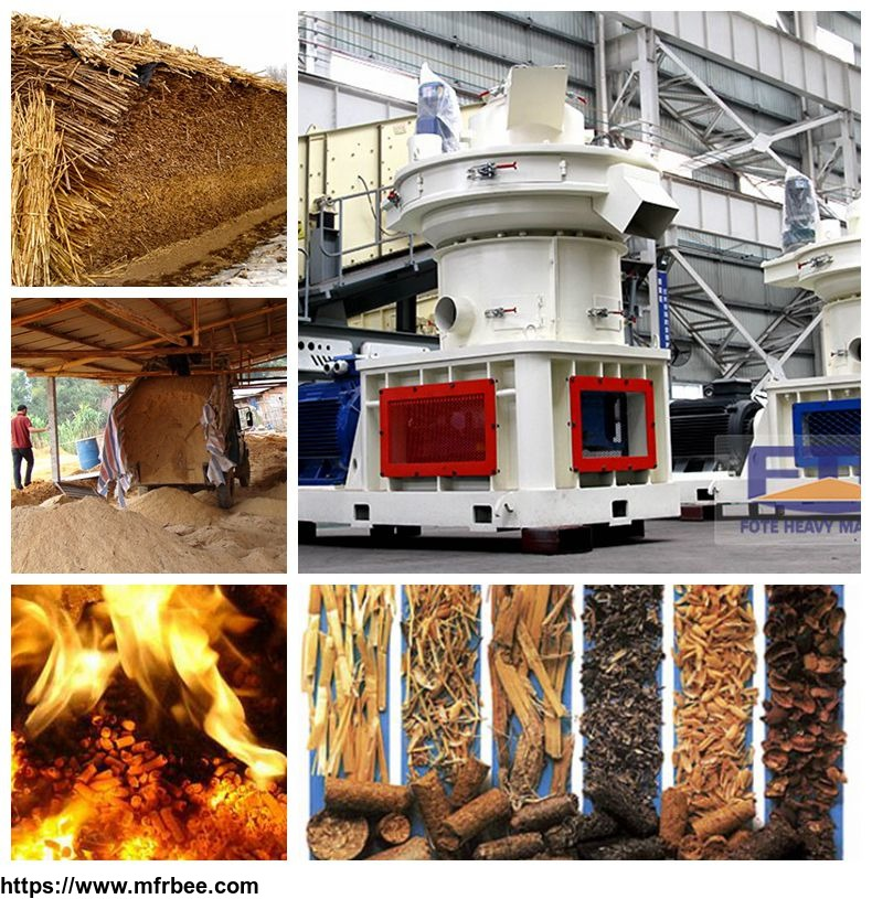 Biomass pellet making machine factory delivery