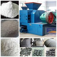 Lime Powder Briquette Press With Heart Service/Top Quality Reliable Lime Briquetting Machine