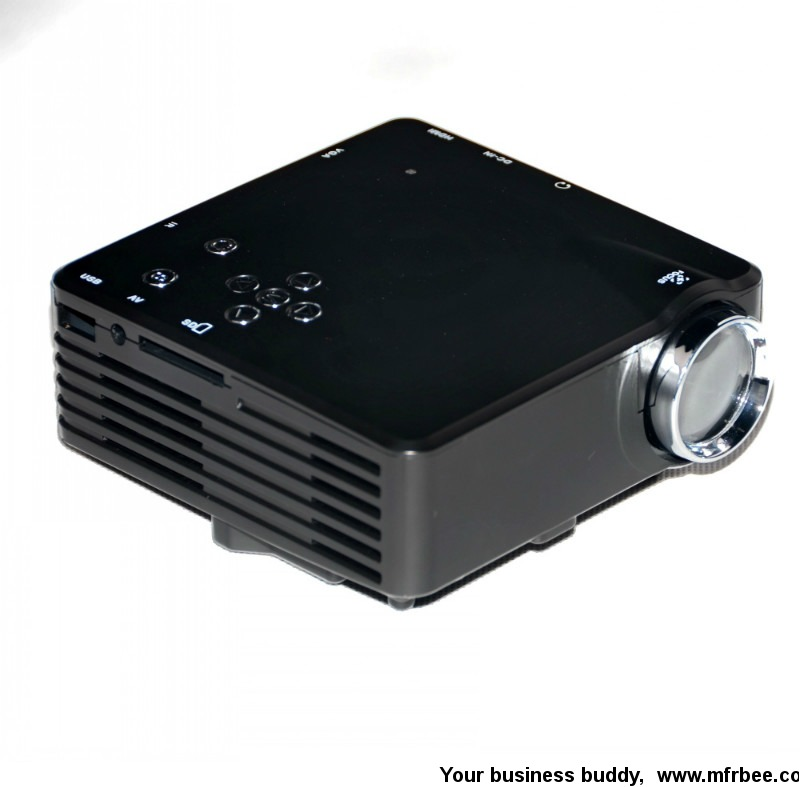 original manufacturer barcomax mini led projector with HDMI,USB,TV turner