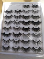 Wholesale 25mm Eyelashes Package Box Private Label Eyelashes