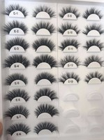 Create your own brand 3D mink lashes private label eyelashes