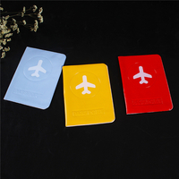 wholesale new plastic pvc id card cover pvc passport cover id card holder travel promotional gift