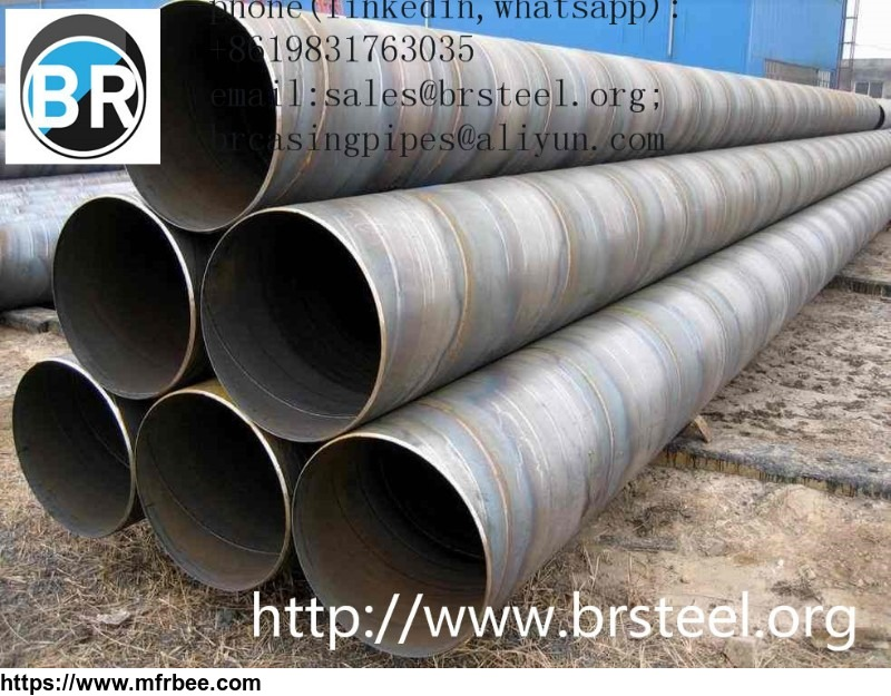 Carbon steel SSAW 3PE coated steel pipe(High quality),ssaw spiral welded carbon