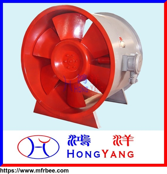 hy_htf_series_fire_protection_axial_flow_fan_of_high_temperature_smoke_exhaust