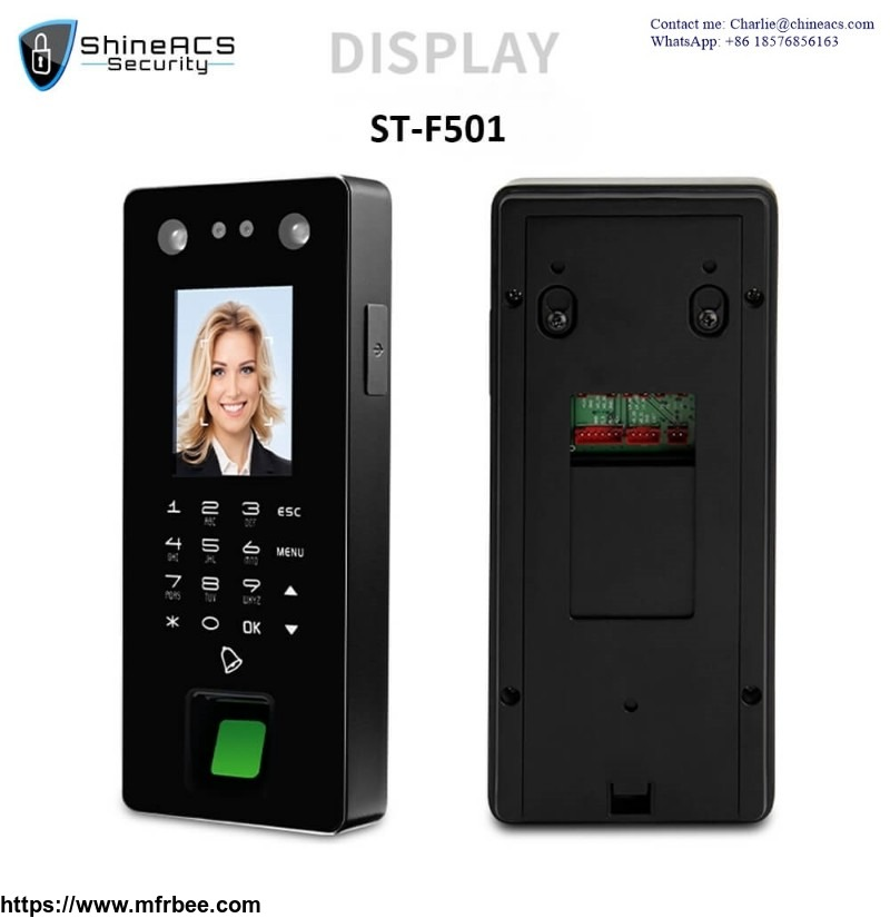 Biometric Face/Fingerprint/IC/Pass Based Time & Attendance System Machine ST-F501