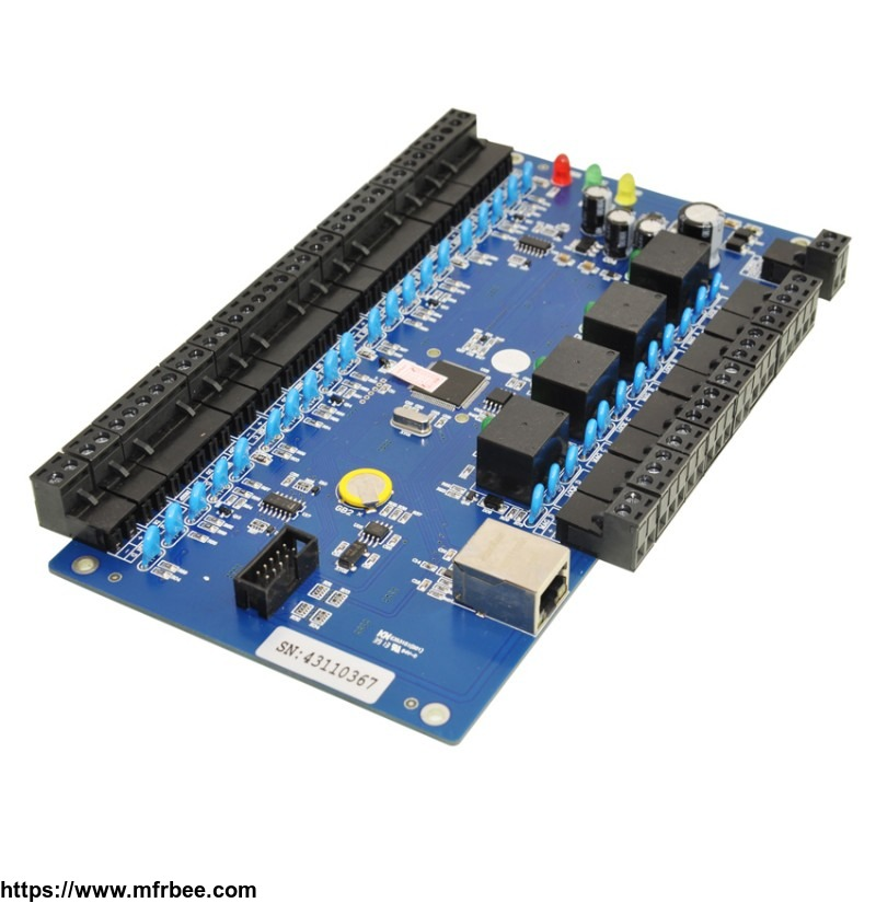 four_door_two_way_access_control_controller_panel_kits_sa_b04t
