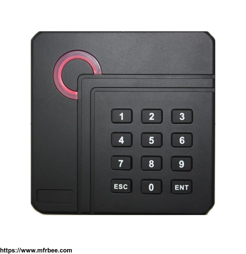 Key card door lock access control systems card reader installation