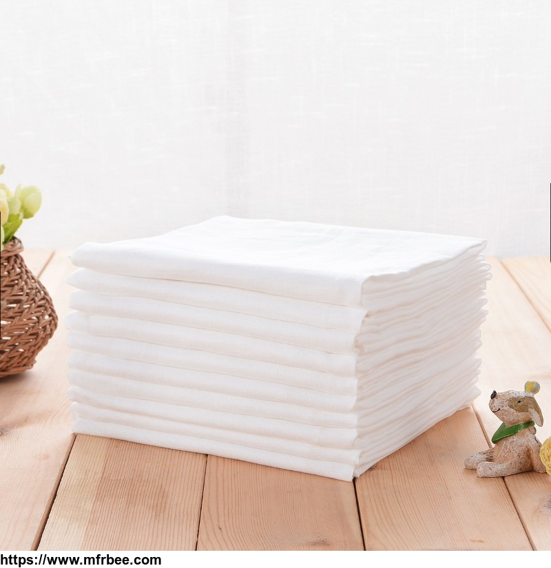 3 layer soft cotton plain gauze for baby blanket and sleeping bag