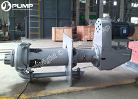 www.tobeepump.com Tobee® 250mm mining vertical slurry pump for mineral processing