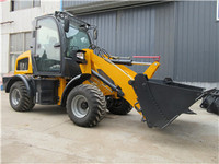 Earth moving machinery avant mini wheel loader radlader for sale