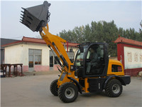 Manufacturer mini wheel loader machine radlader China