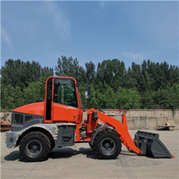 Mini wheel loader farm tractor front end loader