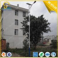 LED High illumination 80W solar street lighting sy