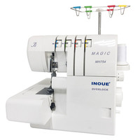 MH754 4-fade-overlock machine/inoue sewing machine for home use
