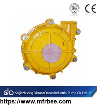Rugged Heavy Duty Slurry Pump