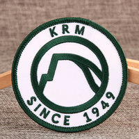 KRM Custom Embroidered Patches