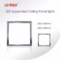 LED Suspended Ceiling Panel lights 600x600mm gas station led canopy lights