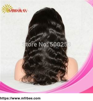 Body Wave Indian Remy Hair Lace Front Wig