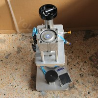 Perfume bottle capping machine,pneumatic capper,metal cap press machine