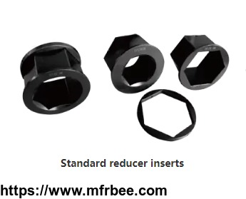 Stardand hexagon cassette reducers