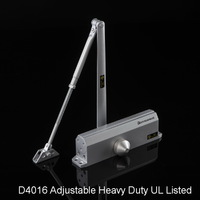 UL Listed Adjustable Heavy Duty Door Closer