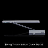 CE Certificated Sliding Track Arm Door Closer