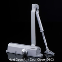 CE Standard Hold Open Arm Aluminum Door Closer