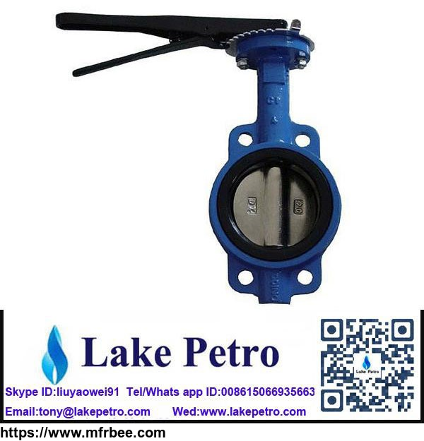 all_size_butterfly_valve_wafer_type_manual_corrosion_resistance
