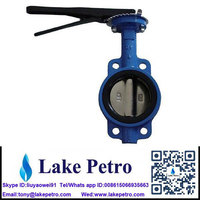 All size Butterfly valve Wafer type Manual Corrosion resistance