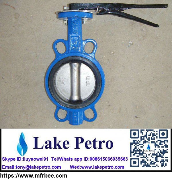 dn_100_butterfly_valve_wafer_type_for_solid_control_system